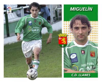Los cromos de la liga - C.D. Llanes Miguelín