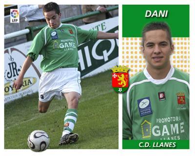 Los cromos del deporte llanisco - C.D. Llanes - Dani