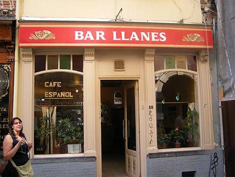 Bar Llanes en Bruselas