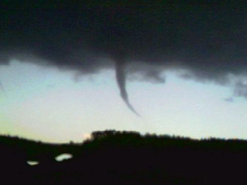 Tornados en Llanes