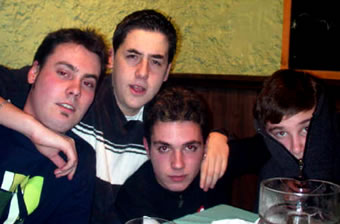 We, Corry, Nin y Nachín